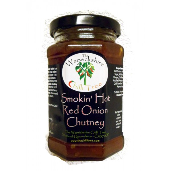 Smokin' Hot Red Onion Chutney